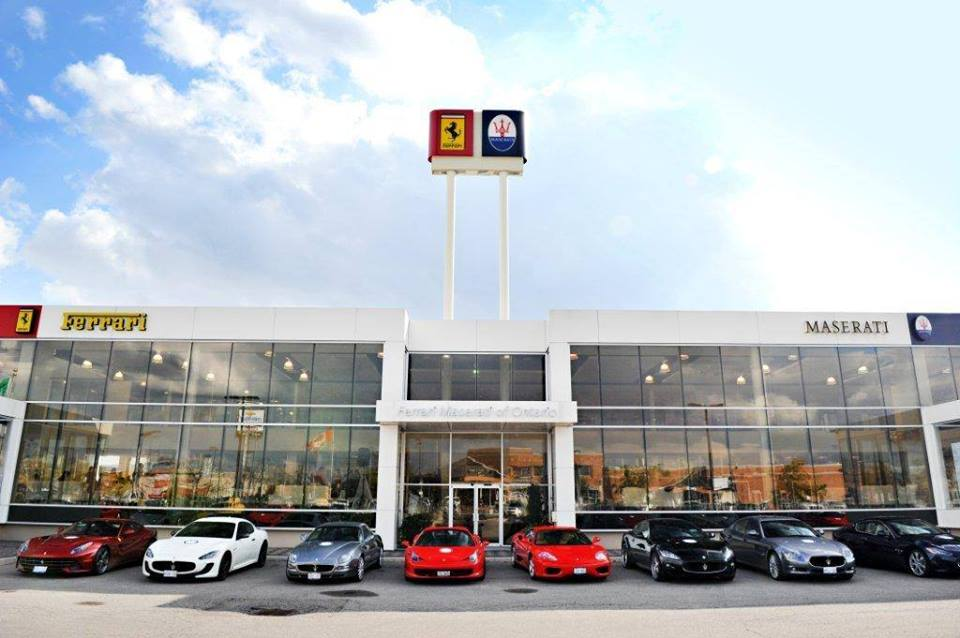 Maserati of Ontario dealership