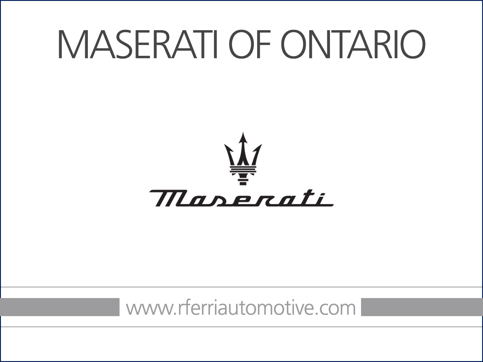 2021 Maserati Levante GranSport (Stk: 2542MA) in Vaughan - Image 1 of 0